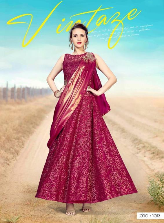 Ready made Designer Gown