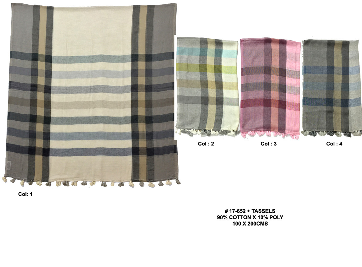 Cotton Linen Shawls