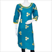 Ladies Cotton Regular Kurti