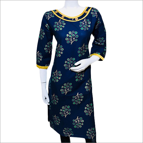 3/4 Sleeve Ladies Kurti