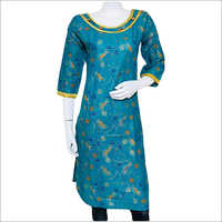 Ladies Pure Cotton Kurti