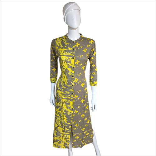 Ladies Round Neck Designer Kurti