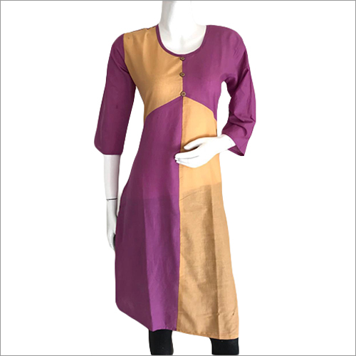 Ladies Round Neck Trendy Kurti
