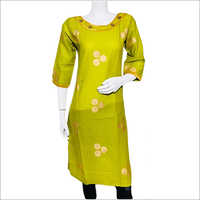 Ladies Round Neck Stylish Kurti