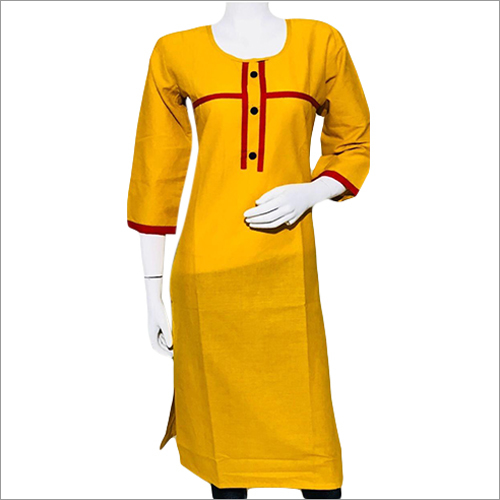 Ladies Casual Wear Cotton Kurti