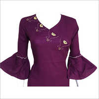 Bell Sleeve Ladies Top