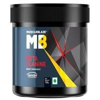 MuscleBlaze Beta Alanine,0.1kg ( 0.22 lb )Unflavoured