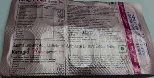 Gamma Linolenic Acid Multivitamin Tablets