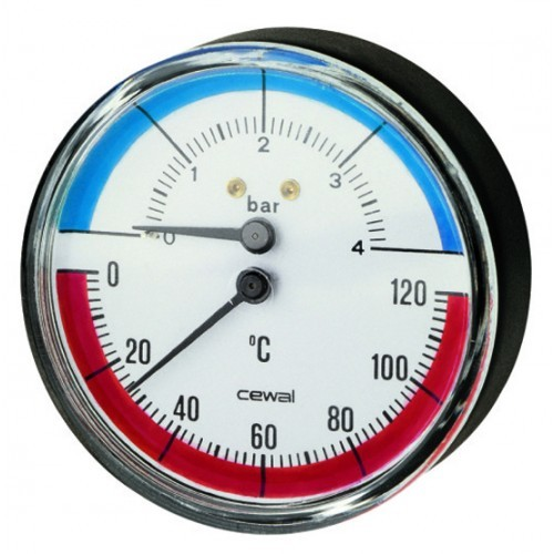 Pressure & Temperature Gauges