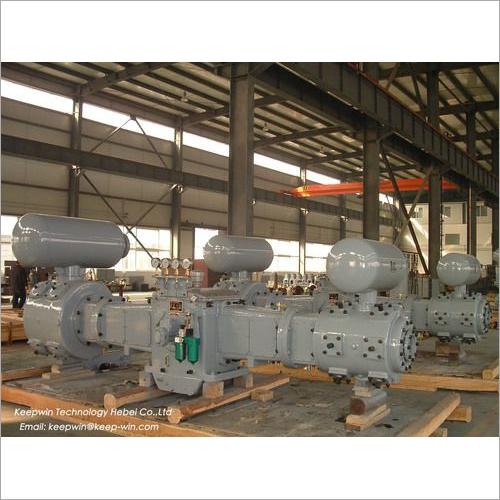 Industrial Reciprocating Gas Compressor