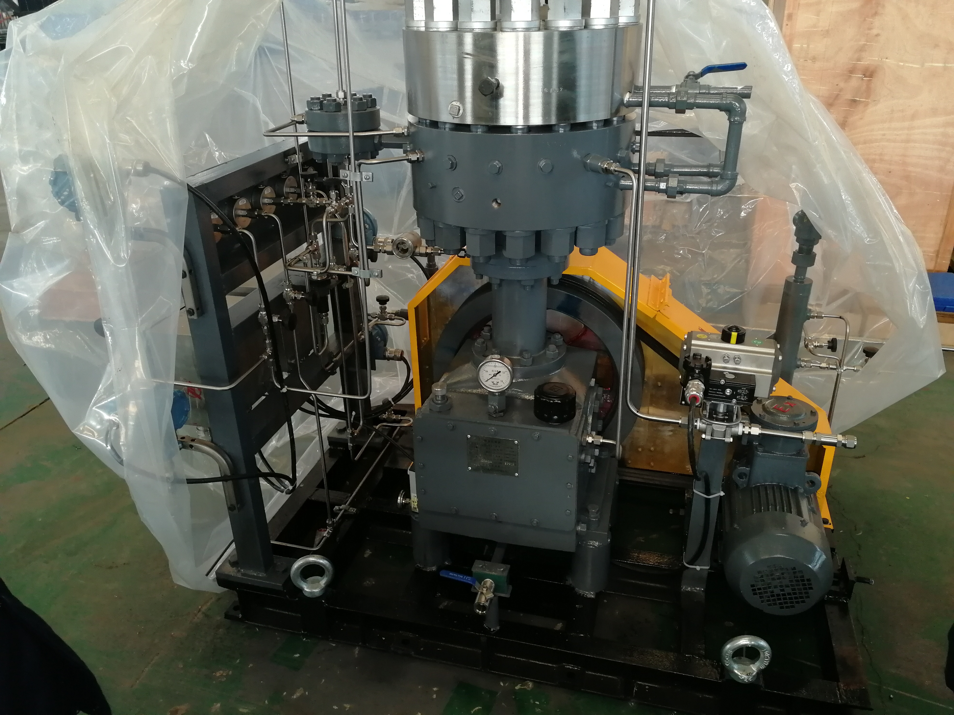 Industrial Reciprocating Gas Compressor