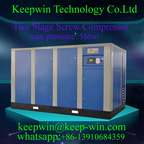 15% Energy Saving 40HP Two Stage Screw Compressor