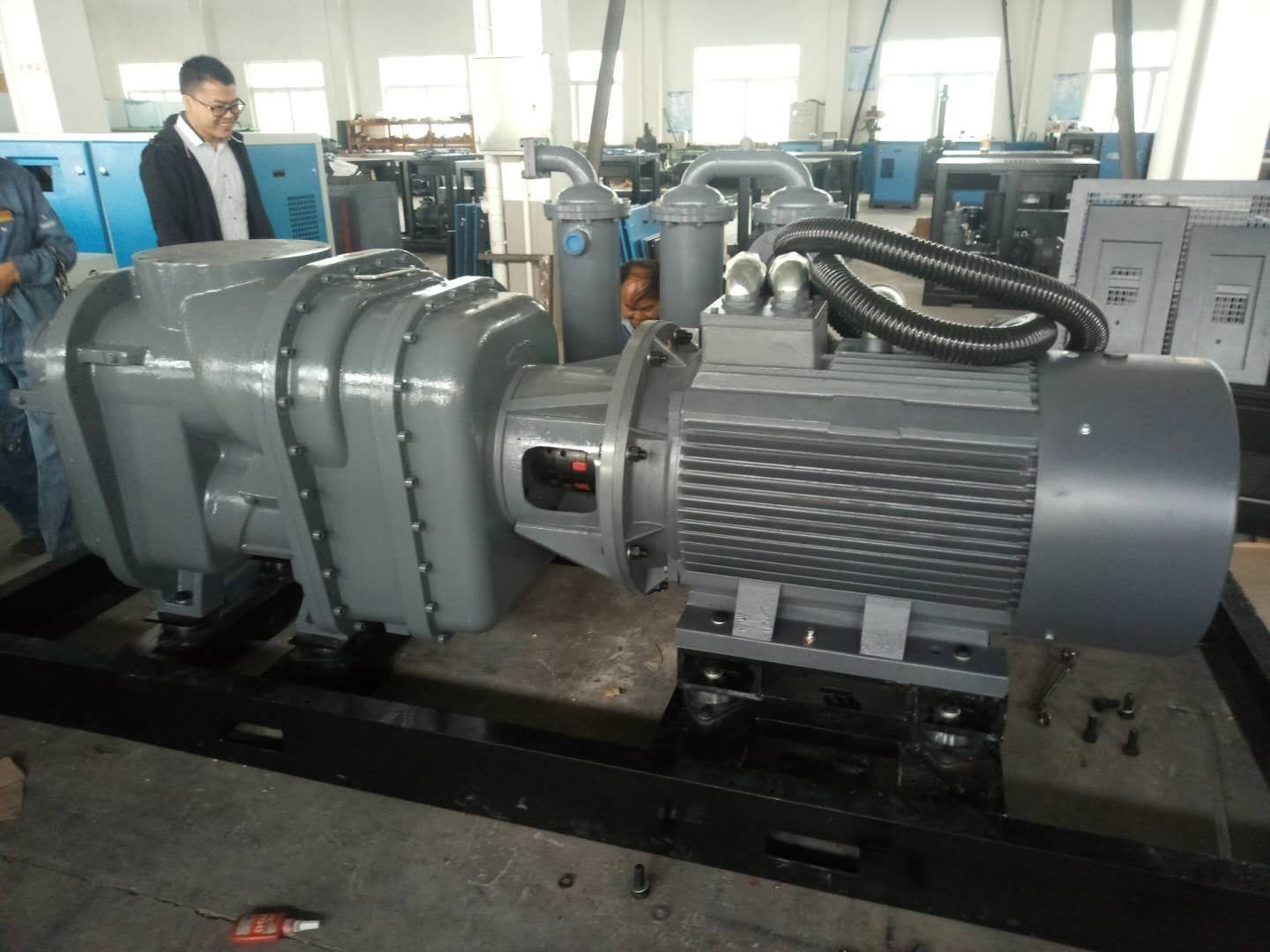 Two Stage Screw Air Compressor