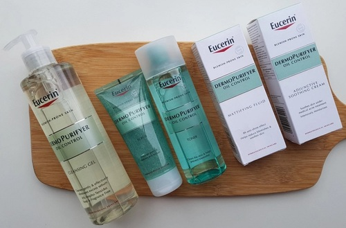 Eucerin DermoPurifyer Oil Control Cleansing Gel (200ml) & (400ml)