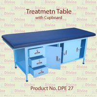 Treatment Table with Cupboard