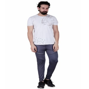 Abloom Trackpant for mens - 100% Stretchable