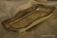 GLASS SILVER TRAY