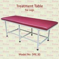 Treatment Table with Six Legs