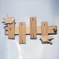 Antique Wood Key Holder