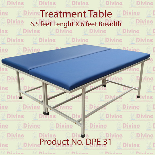 Treatment Table with 6.5 ft Length X 6 ft Breadth
