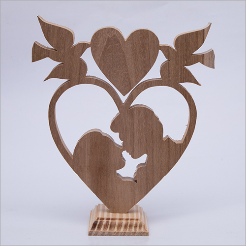 Decorative Couple heart Show piece