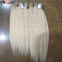 Blonde Human Virgin Price List, Cuticle Aligned Raw Indian Hair