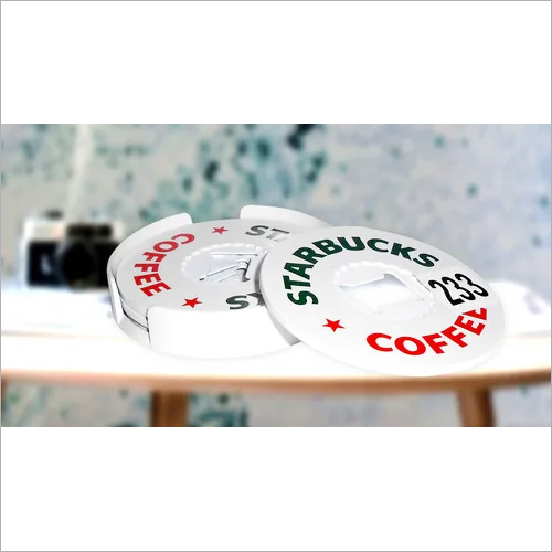 Starbucks Opener Coaster