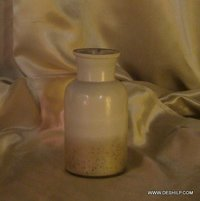 SILVER GLASS JAR & CONTAINERS