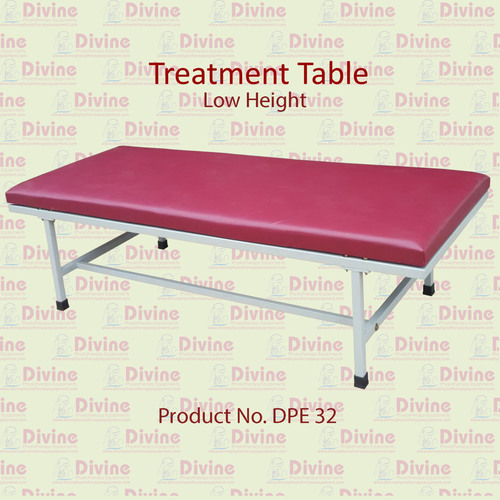 Treatment Table with Low Height