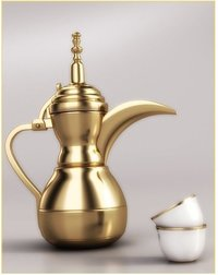 Brass Dallah Tea