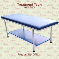 Treatment Table with Rack