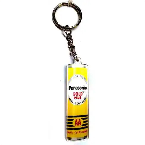 Panasonic Gold Plus Acrylic Keychain