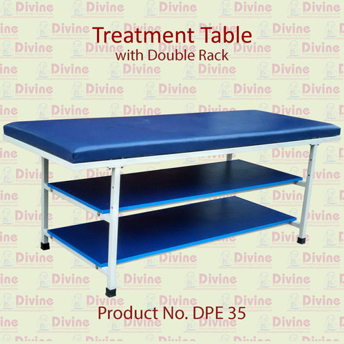 Treatment Table with Double Rack