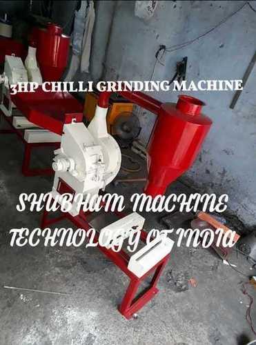 3 HP Chilli Grinding Machine
