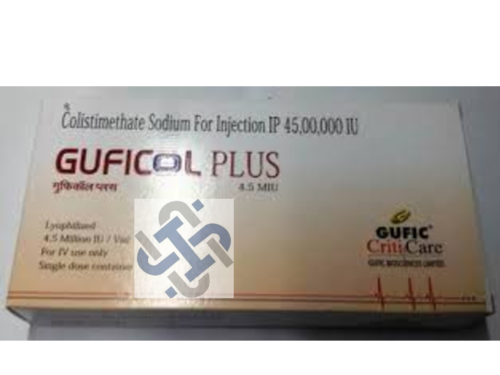 Guficol Plus Colistimethate Sodium 4.5Million IU Injection