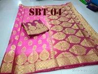 Women's Heavy Kanchivaram Rich Pallu Design Saree