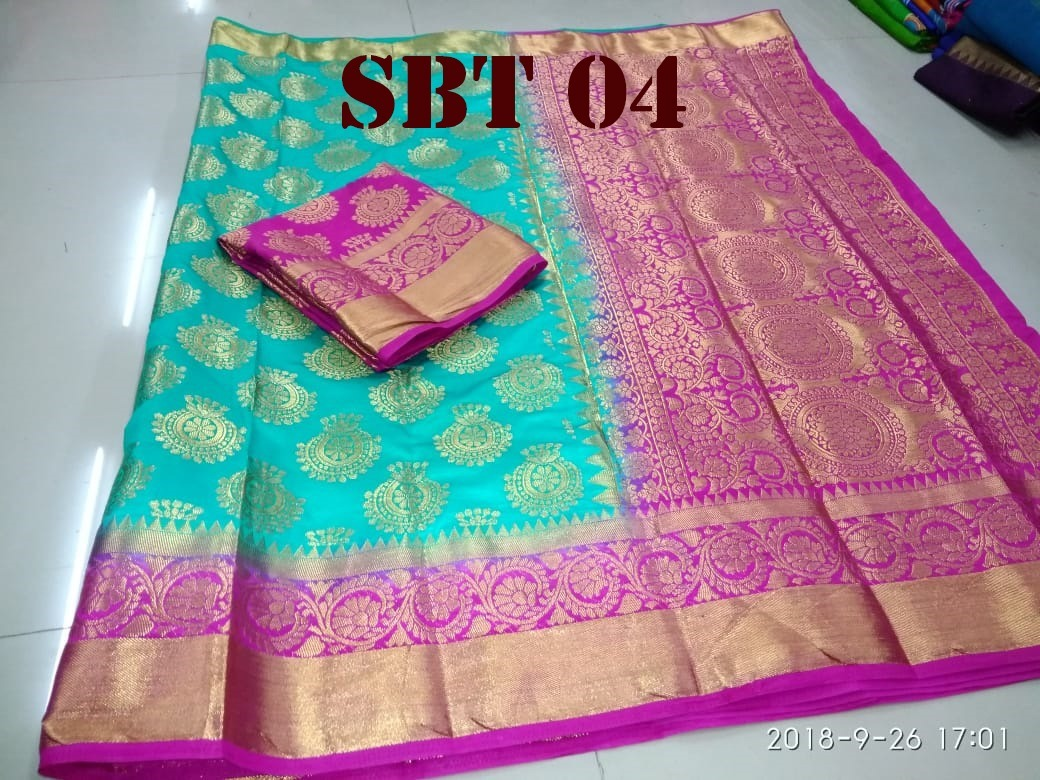 Women's Heavy Kanchivaram Rich Pallu Design Saree