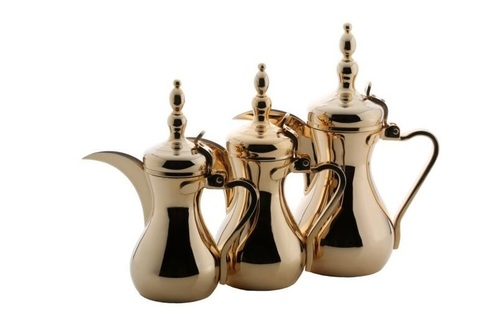 Arabic Coffee Gold Dallah Set