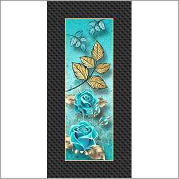Door Digital Floral Print Paper