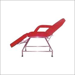 SS Three Folding Facial Bed