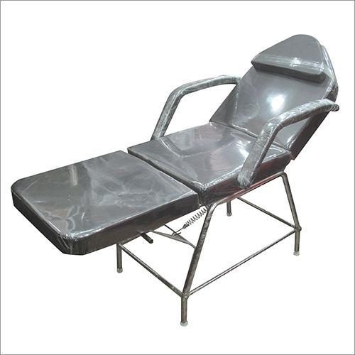 Stainless Steel Three Fold Facial Bed