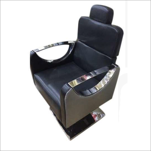 Black Hydraulic Salon Chair