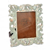 New Handmade Decorative Wooden Photo Colored Frame Handicraft Item
