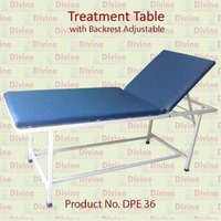 Traction Table with Backrest Asjustable