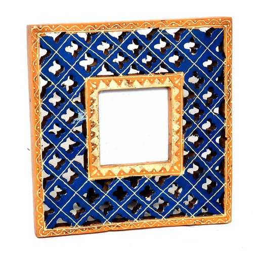 Decorative Handmade Wooden Photo Colored Frame Handicraft