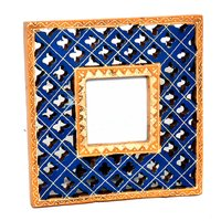 Decorative Handmade Wooden Photo Colored Frame Handicraft
