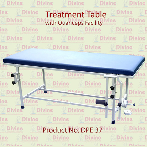 Treatment Table with Quadriceps Facility