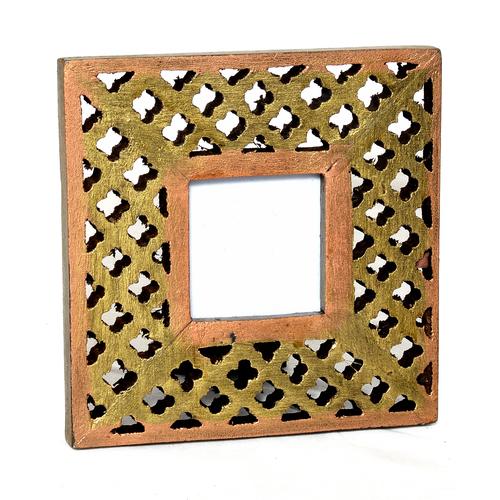 Home Decor Handmade Wooden Photo Colored Frame Handicraft