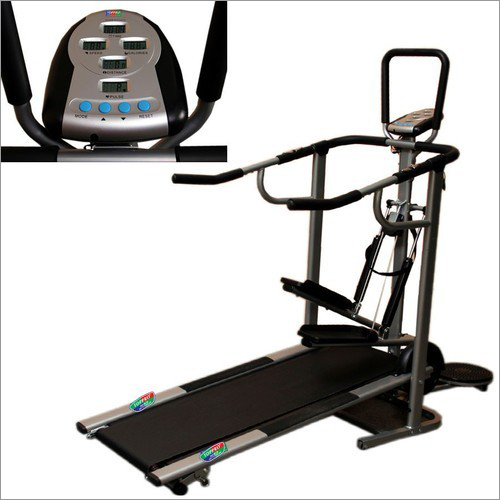 Bull Rage 4 In 1 Manual Treadmill