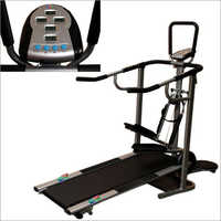 Bull Rage 4 In 1 Manual Treadmill